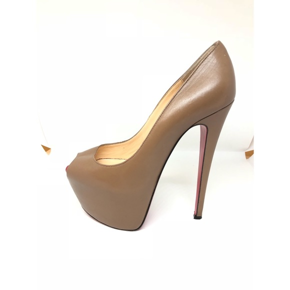 77a2527931f Christian Louboutin Shoes - Louboutin Highness Peep-toe Platform Pumps